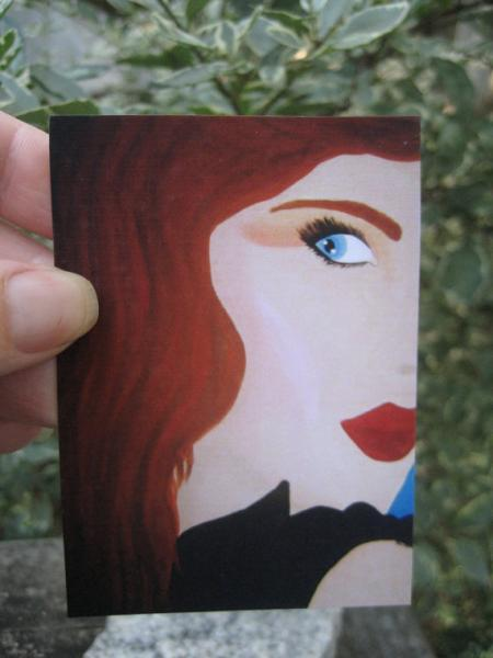 Fiery Desire ACEO PRINT artist trading card miniature art LIMITED edition