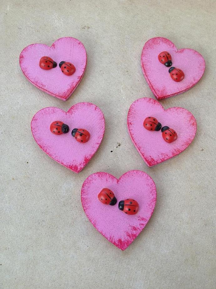 Magnet Heart - Love Bugs