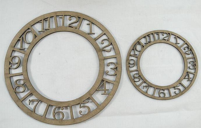 Chipboard clocks