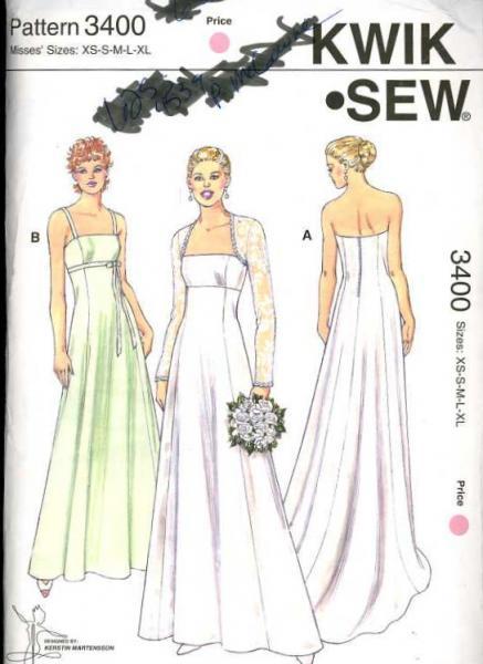 Strapless Dress Sewing Patterns
