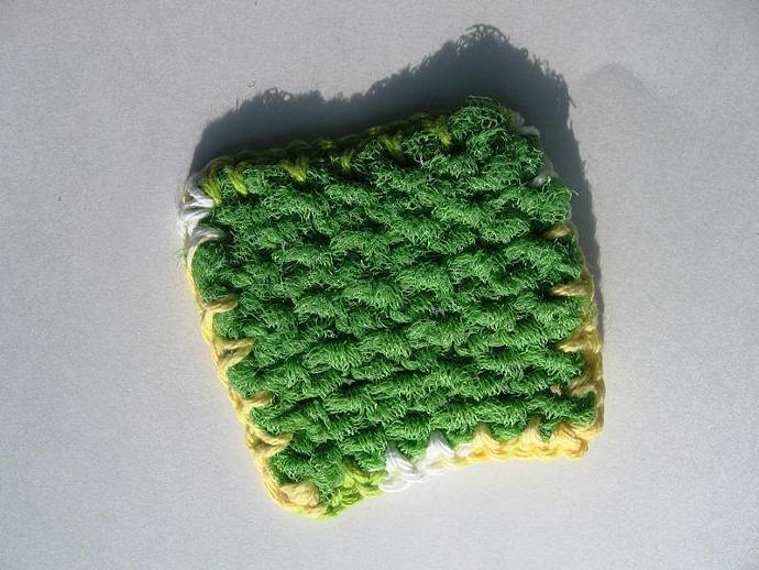 Lime Green Kitchen Scrubbie