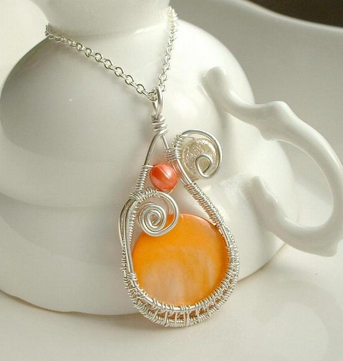Sunshine Wrap Necklace
