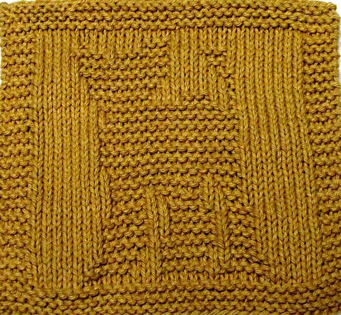 Knitting Cloth Pattern - LION CUB - PDF