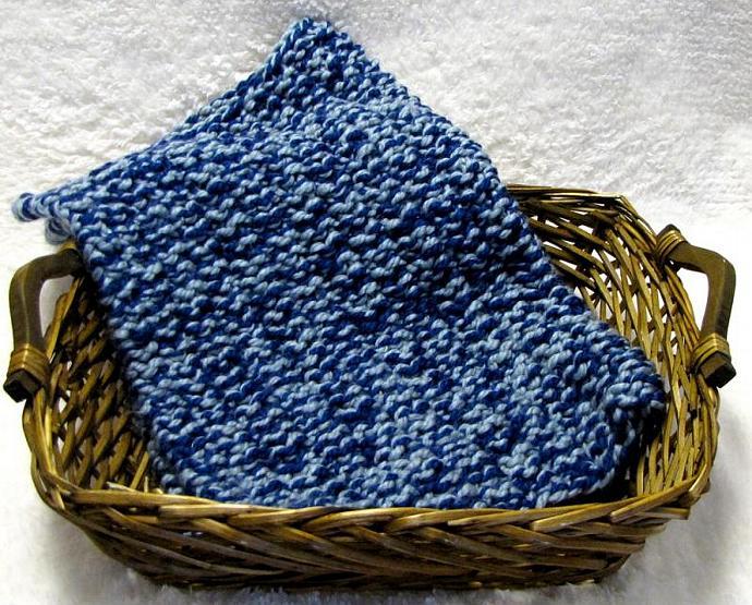 Baby Basket Blanket Knitting Pattern - Photo Prop - PDF