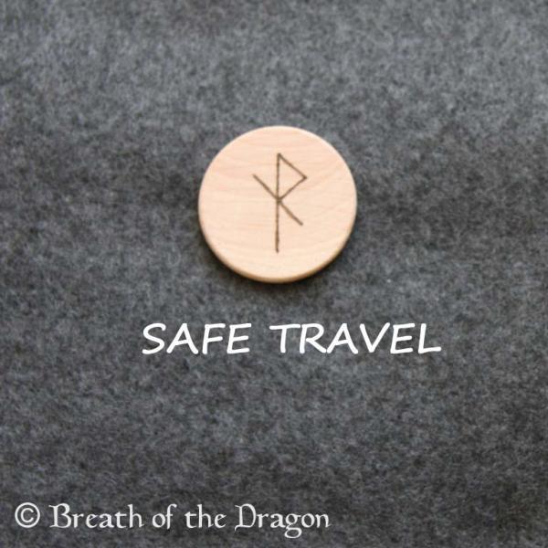 SAFE TRAVEL bindrune