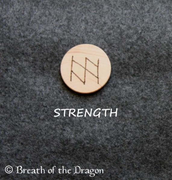STRENGTH bindrune