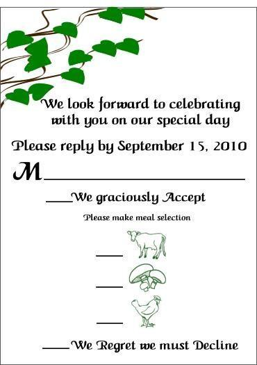 100 fun nature inspired wedding invitation sets wi