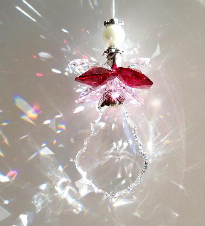 Sun Catcher Valentine Angel