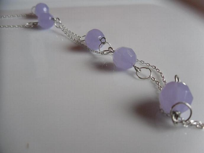 Lavenders-Czech Necklace