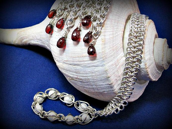 Svetlana Chainmaille Necklace