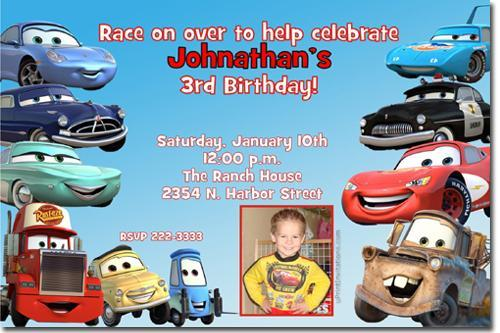 Hot Wheels Birthday Invitations click uPRINTinvitations