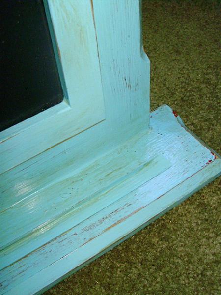 Antiqued finish Chalk or EZ Erase board Farmhouse Cottage Home Decor