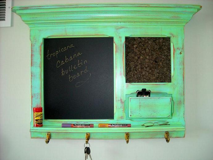 Tropicana Cabana bulletin board