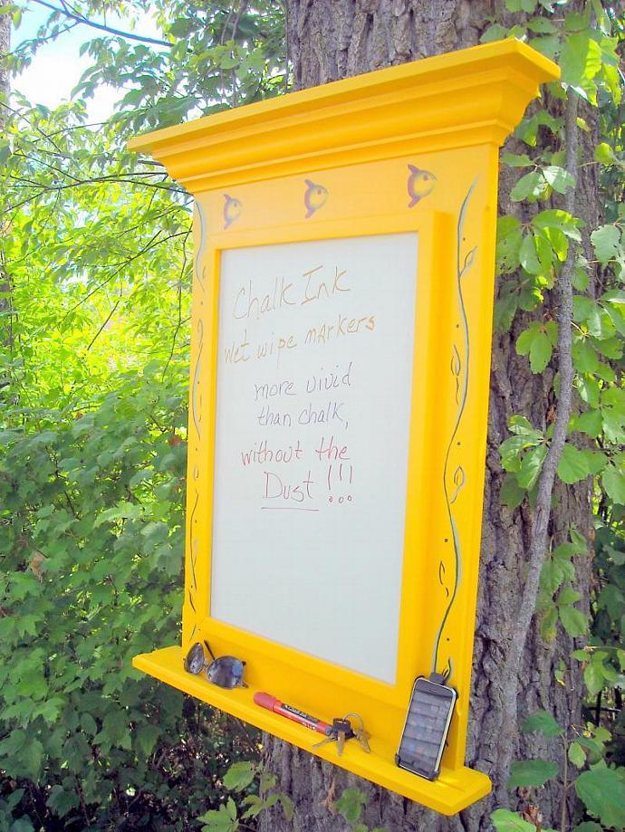 Fishy Farmhouse bulletin board