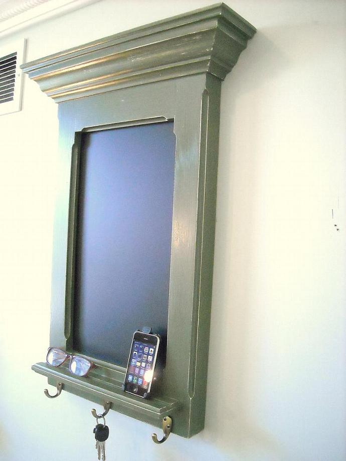 Message Center in a FitzWoodys Antiqued Sage Green