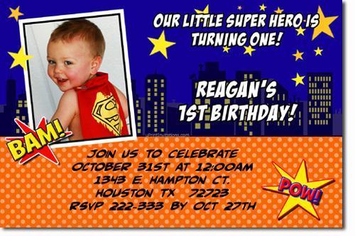 Superman Birthday Invitations download – Superman Birthday Invitations
