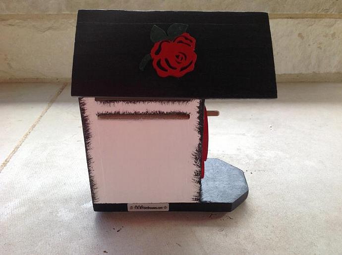 Birdhouse - 65 Roses-Cystic Fibrosis