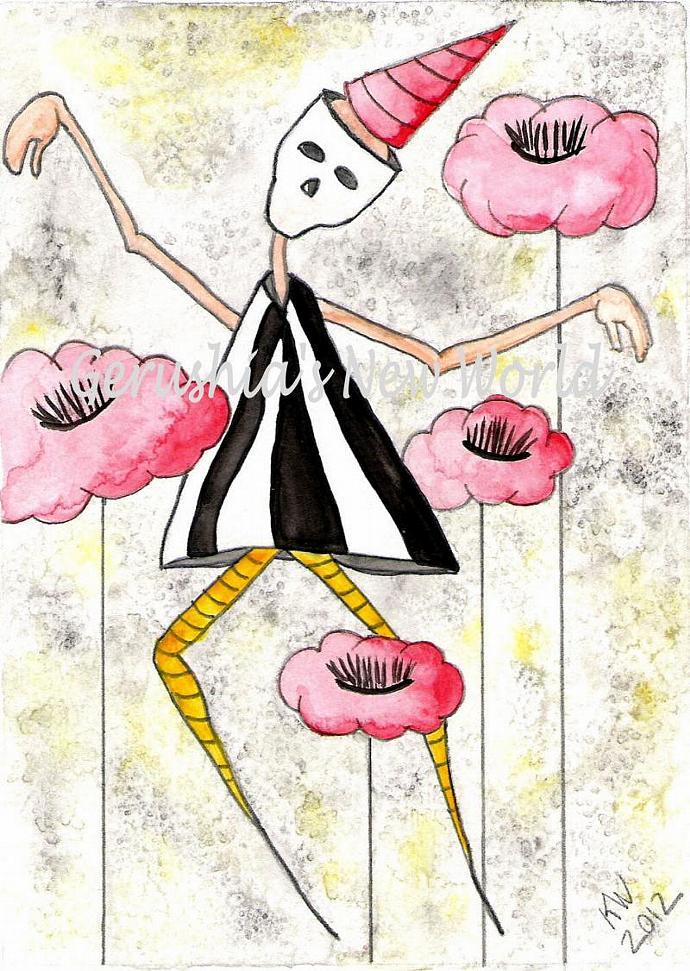 Find Me ~ Salted Watercolor Print