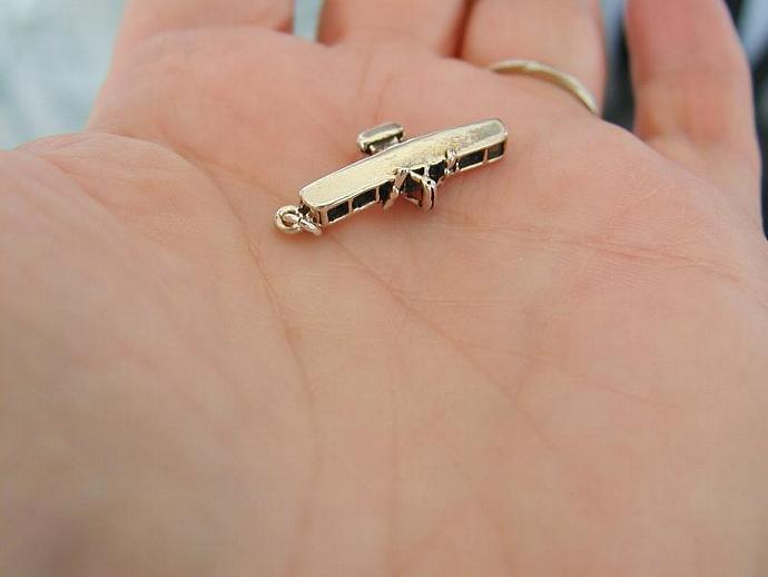 Vintage Biplane SS Charm