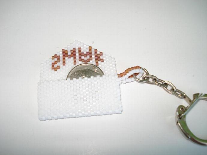 Bead Mini Clutch Pendant - SWAK