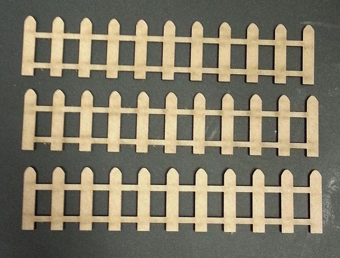 Chipboard Fences no.2-3 Pieces