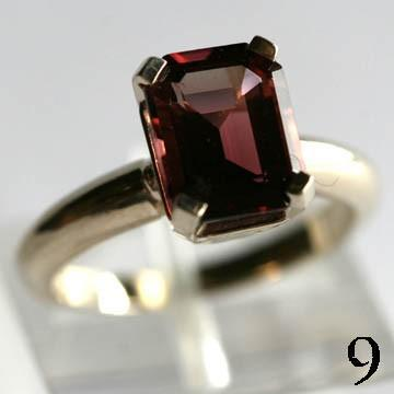 Magnotti 14Kt Gold Ring 2ct Rubellite Tourmaline Ring Bruce Magonotti Ring