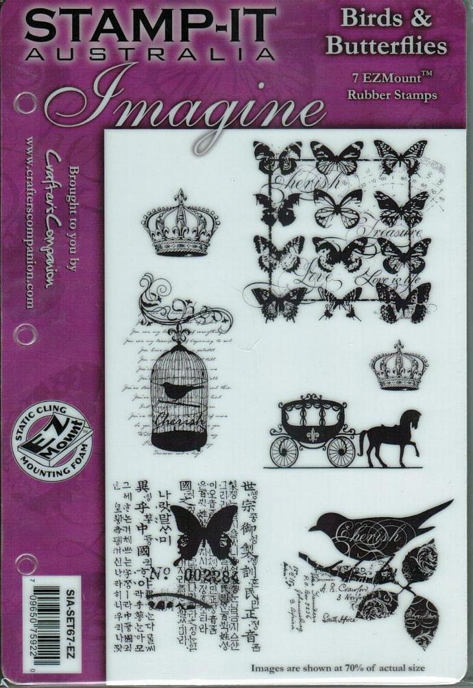 Birds and Butterflies stamp set