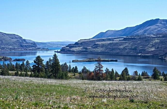 Fine Art Landscape Photography, Memaloose Island in the Columbia River Gorge on