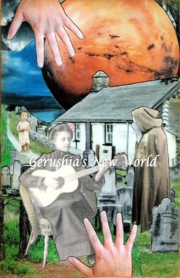 Lida's Swan Song ~ Watercolor Collage Print