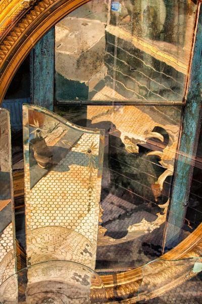 An Abstract of a Shop Window Fine Art Photo