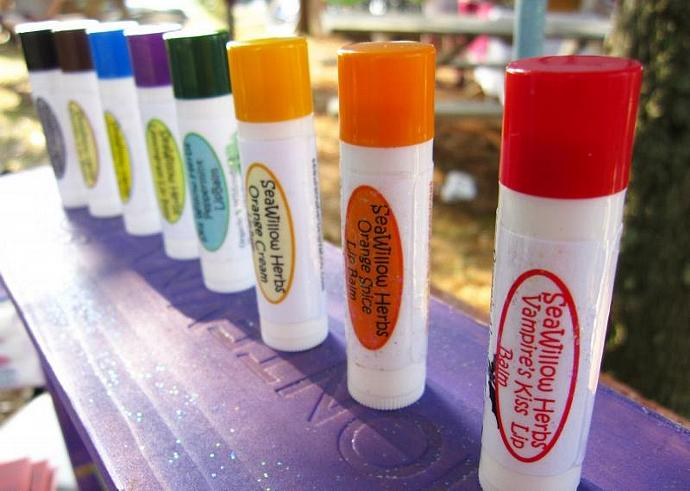 Lip Balm Pick Three  (Organic and Herbal)