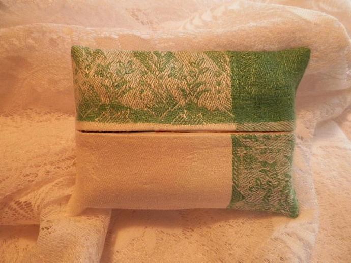 Linen Napkin Tissue Holder