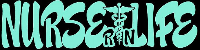 Nurse Life with RN Registered Nurse Vinyl Decal Sticker Design B Vehicle Auto