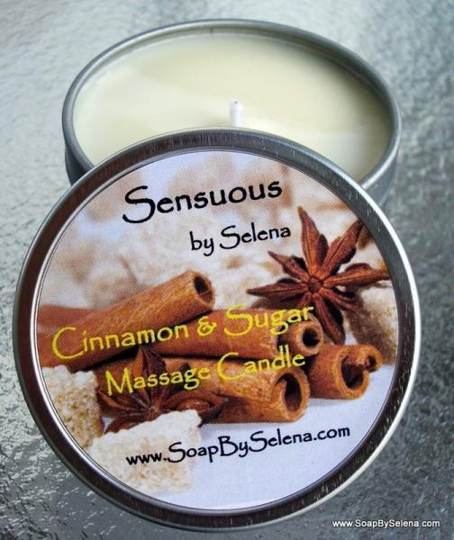 Massage Candle-Sinful Cinnamon And Sugar