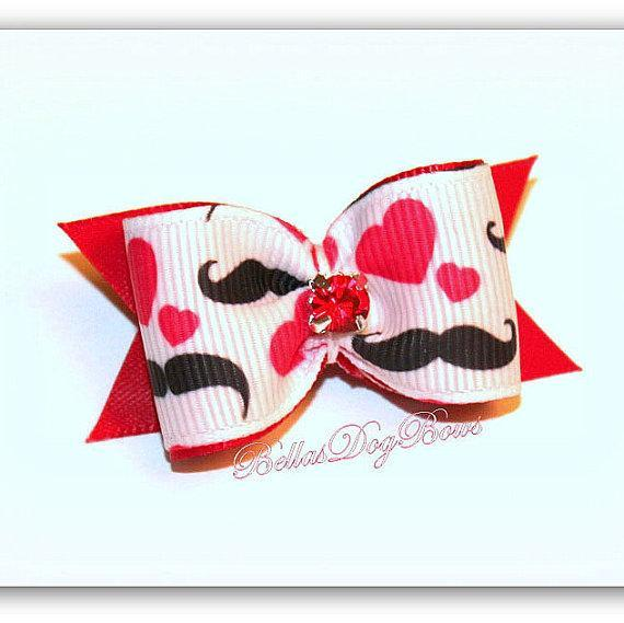 Mustache This Bow !