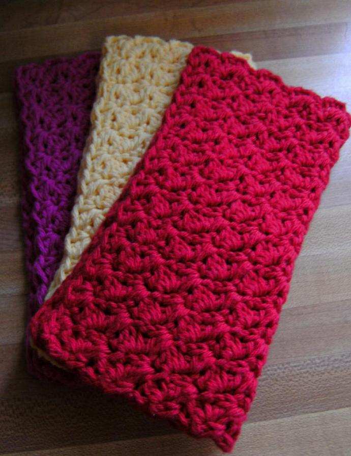 MY SWEET VALENTINE---Set of 3 Handmade Cotton Croc