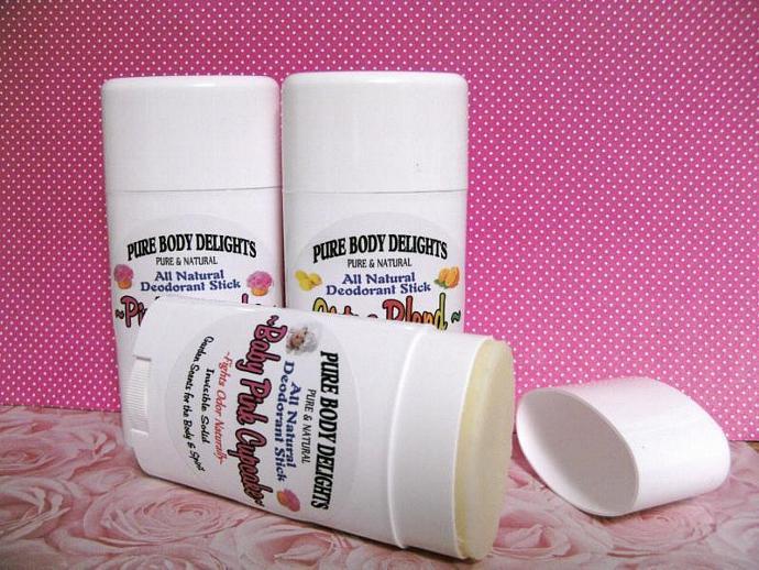 CUCUMBER MELON--All Natural VEGAN Deodorant,Loads