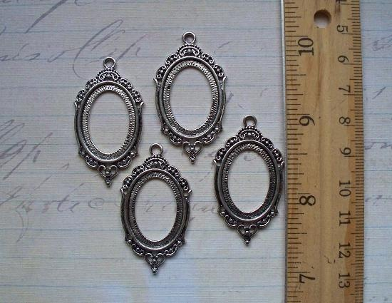 4 Cameo/Cabochon Setting Silver (CSS-01)