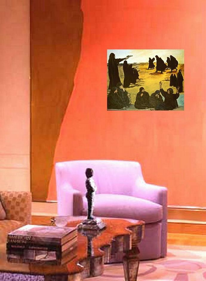 The Women ( Anti-War Painting )
