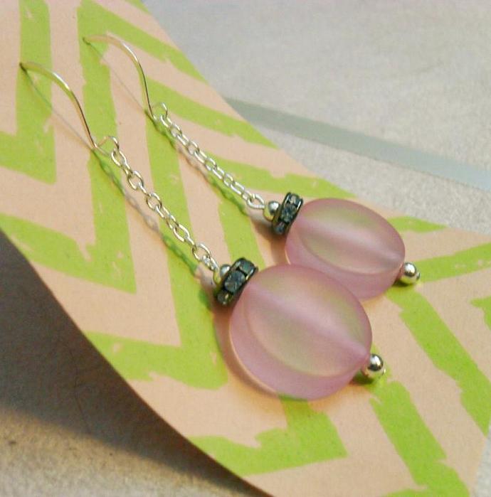 Candy Drop Earrings - Strawberry