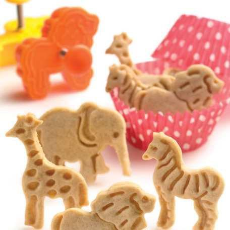 Safari Jungle Circus Animal Fondant Cookie Cutters Plungers Stamp Stencil Press