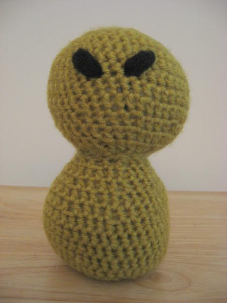 Amigurumi Alien