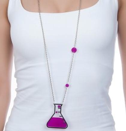 Love Potion Necklace,Geek Jewelry,Back to School Jewelry,Lasercut Acrylic