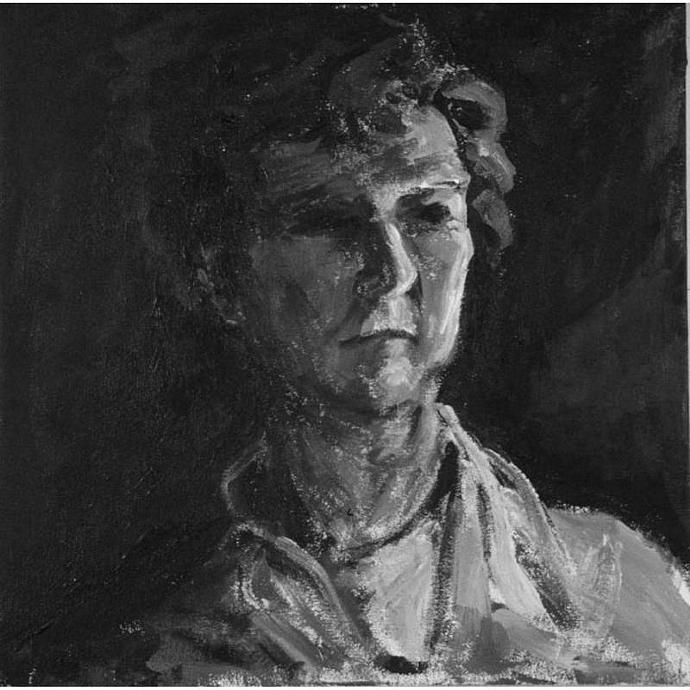 70 Begins, An Original Portrait of a Woman