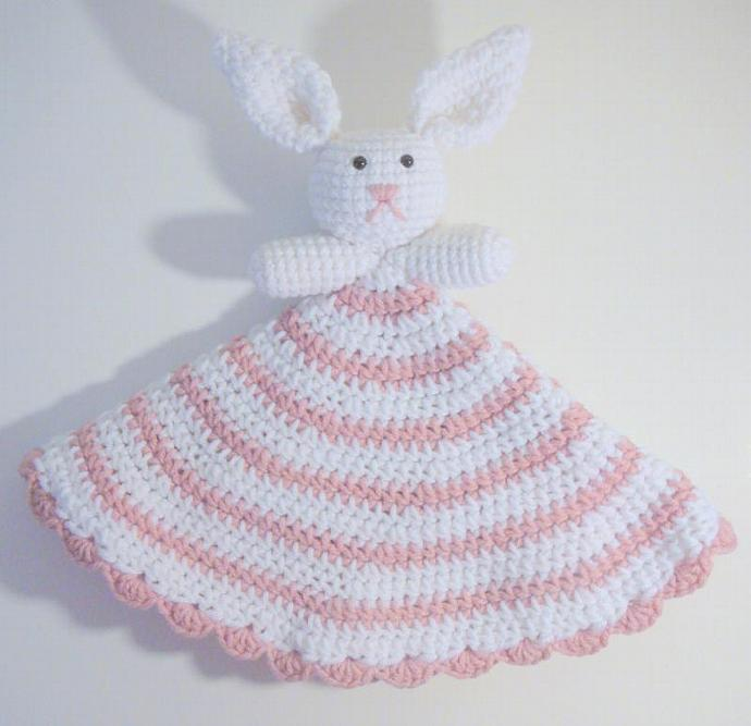 Bunny Lovey PDF Crochet Pattern HGSDesigns