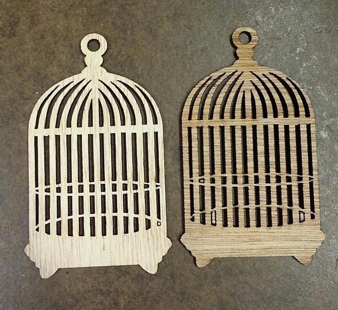 Wood birdcage no.1-2pcs