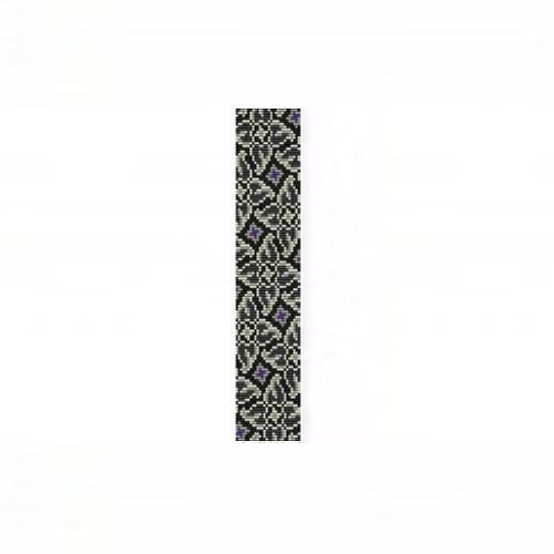 Loom Bead Pattern - Whirlygigs #1 Thin Bracelet