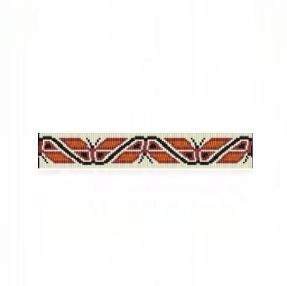 8 Drop Odd Peyote Bead Pattern for NA Butterflies Thin Bracelet