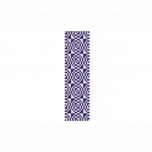 Loom Bead Pattern - Optical Eggplant Cuff Bracelet