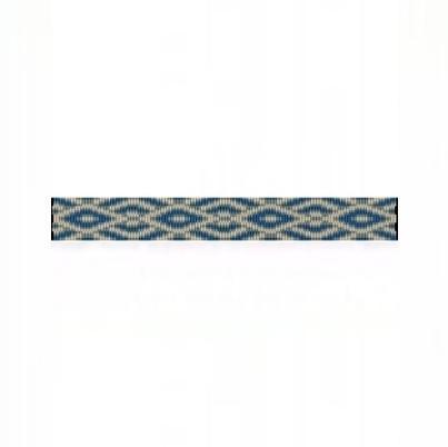 4 Drop Odd Peyote Bead Pattern for SW Diamonds Thin Bracelet